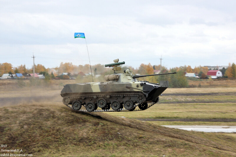 В воздухе - БМД-2.