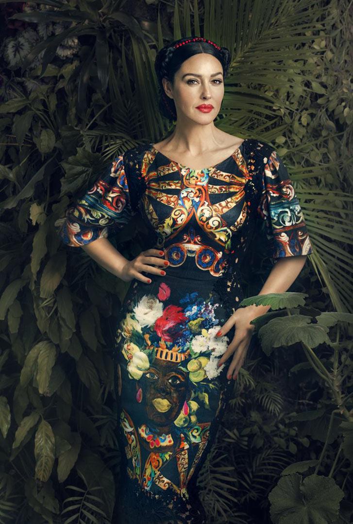Monica Bellucci / Моника Беллуччи в журнале Harper's Bazaar Украина, март 2013 / фотограф Signe Vilstrup