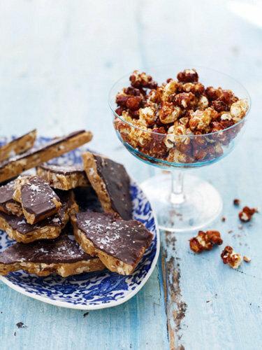 Рецепты к Новогоднему столу от Джейми! Ириски - тянучки с орехами
