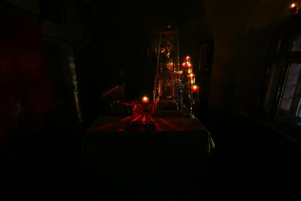 вечернее богослужение предпразднства Рождества Христова. 2014