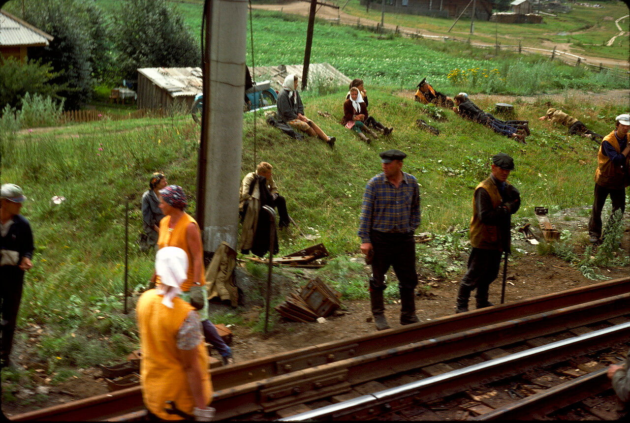 Бригада железнодорожников