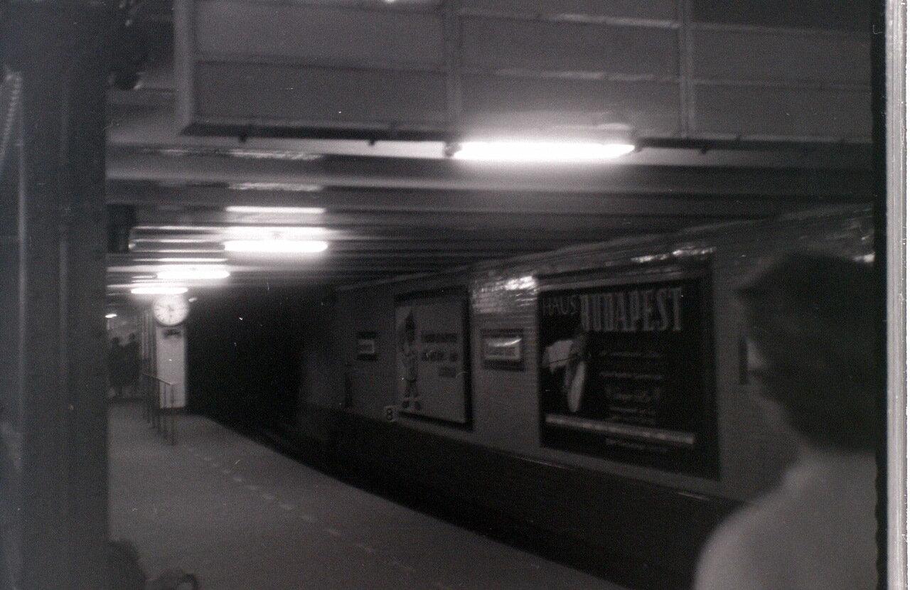 8 сентября 1959. Станция метро Александерплац, Восточный Берлин.