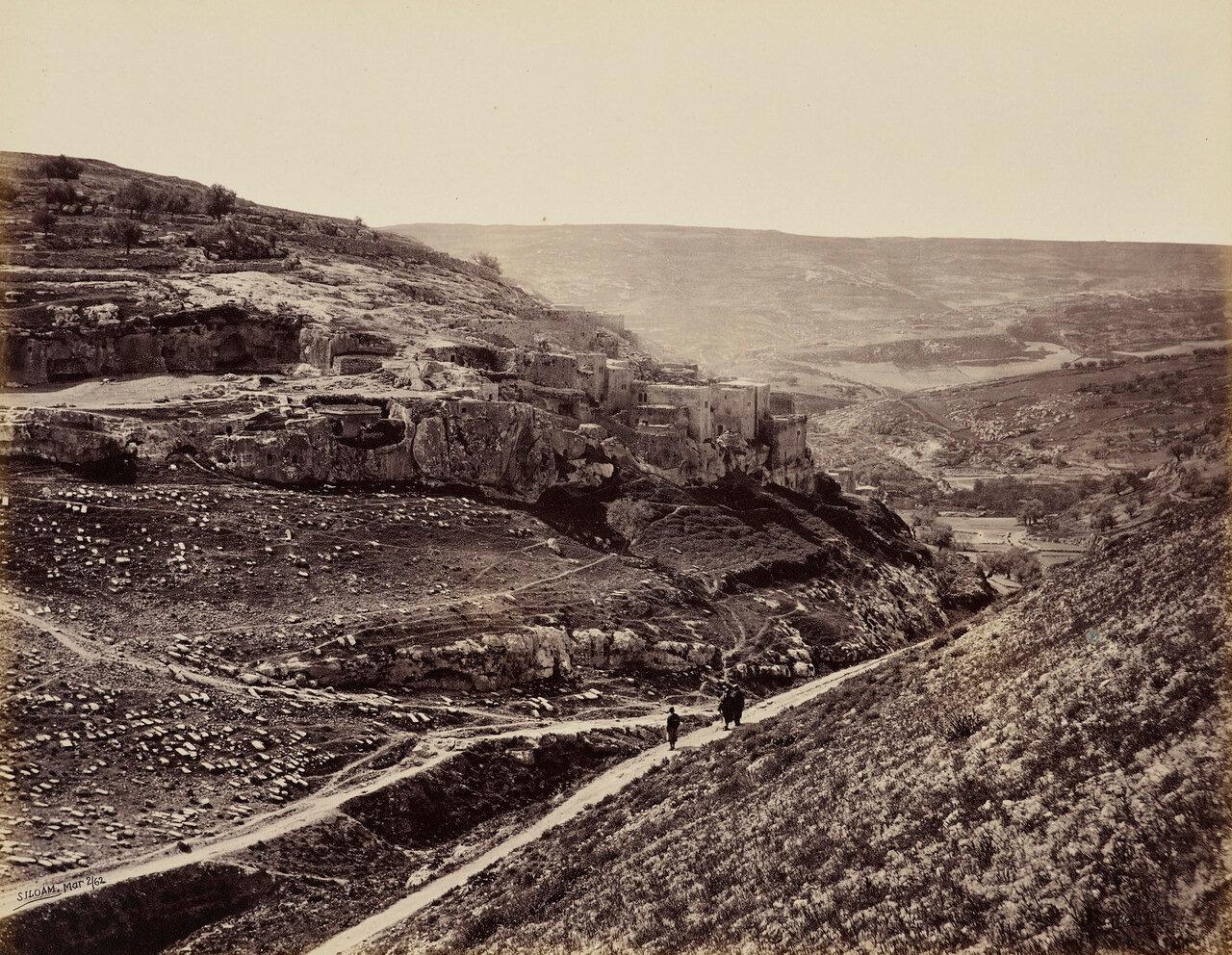 2 апреля 1862. Деревня Силоам, Иерусалим