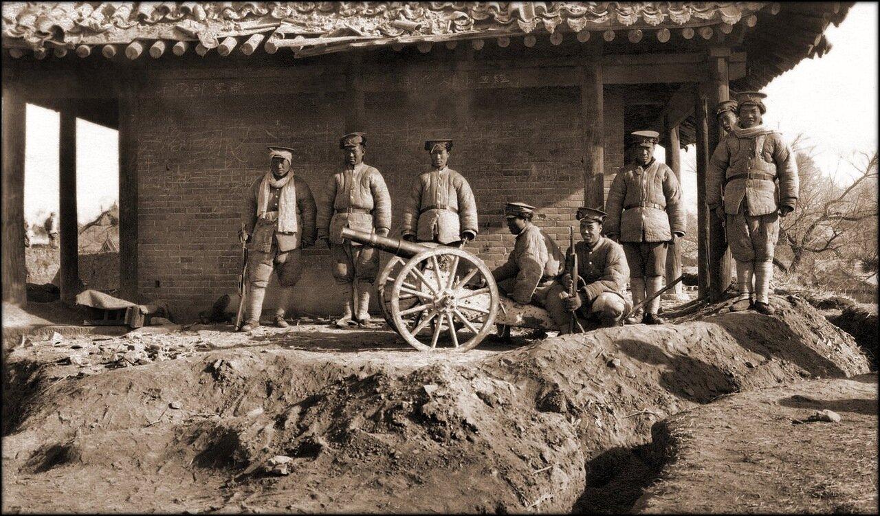 1925. Солдаты в Ляо Чоу, Шаньси