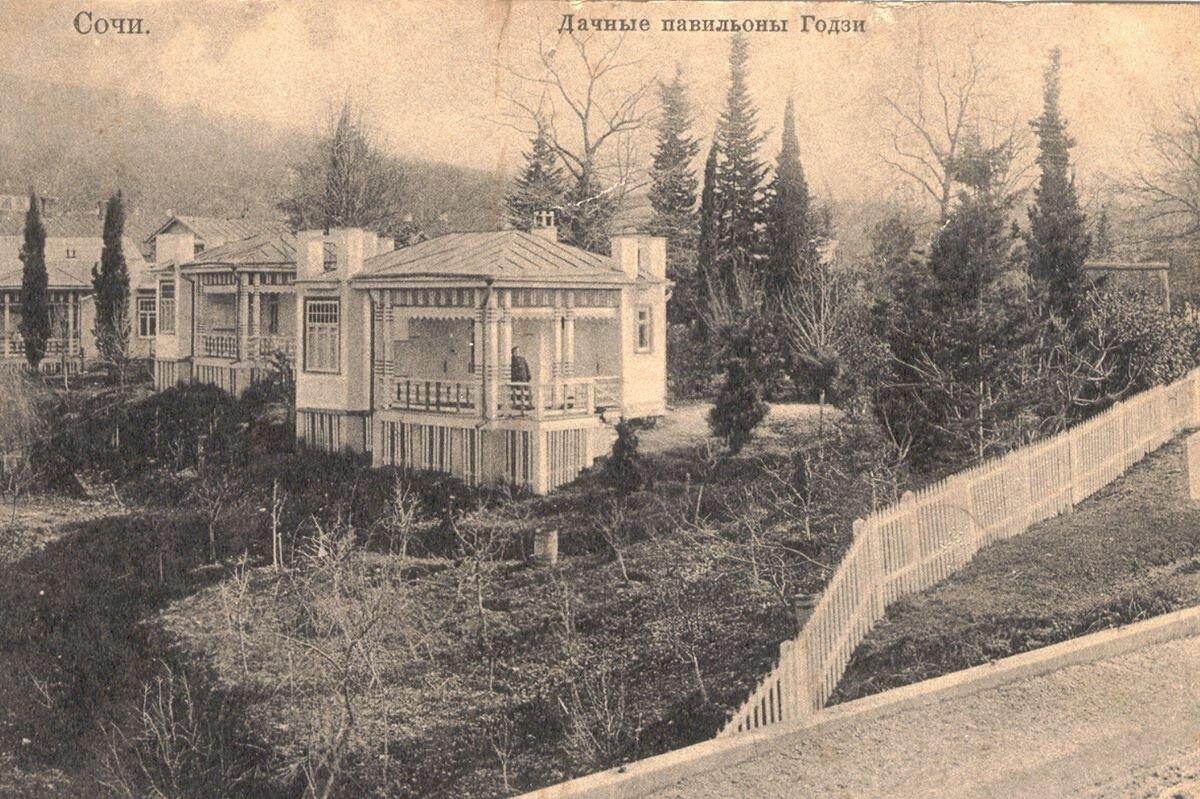 Дачные павильоны Годзи