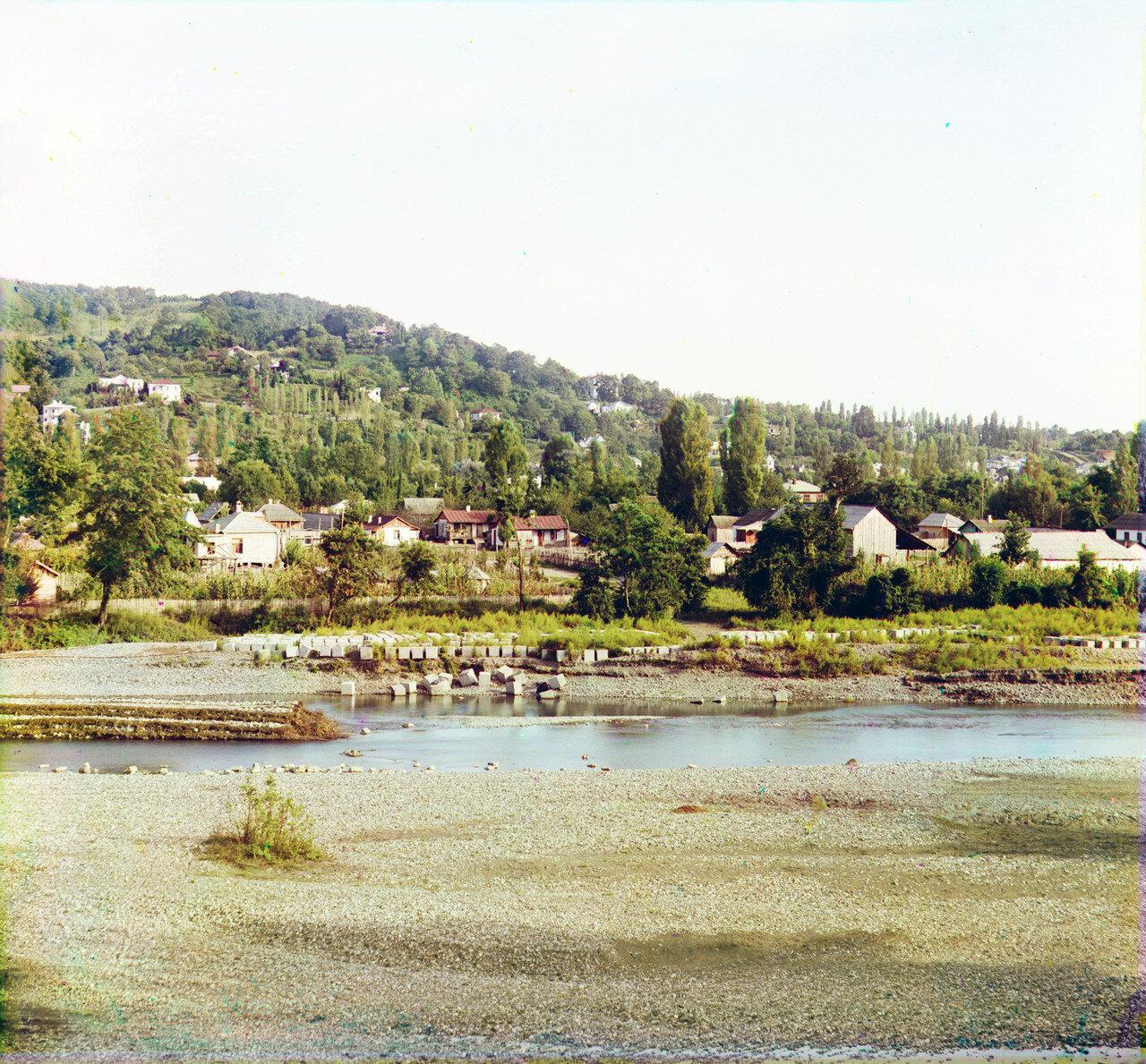 Вид с запада. Река Сочи