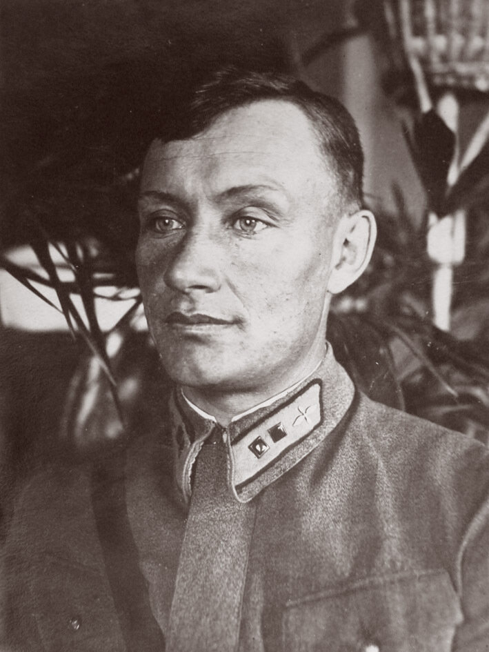 1940. Бортмехник ТБ-3 Загоруев Влас Михайлович. Ростов