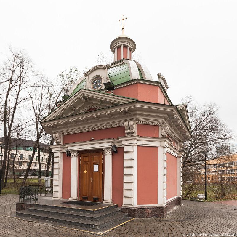 Часовня Александра Суворова и Иоанна Воина в Екатериниском парке