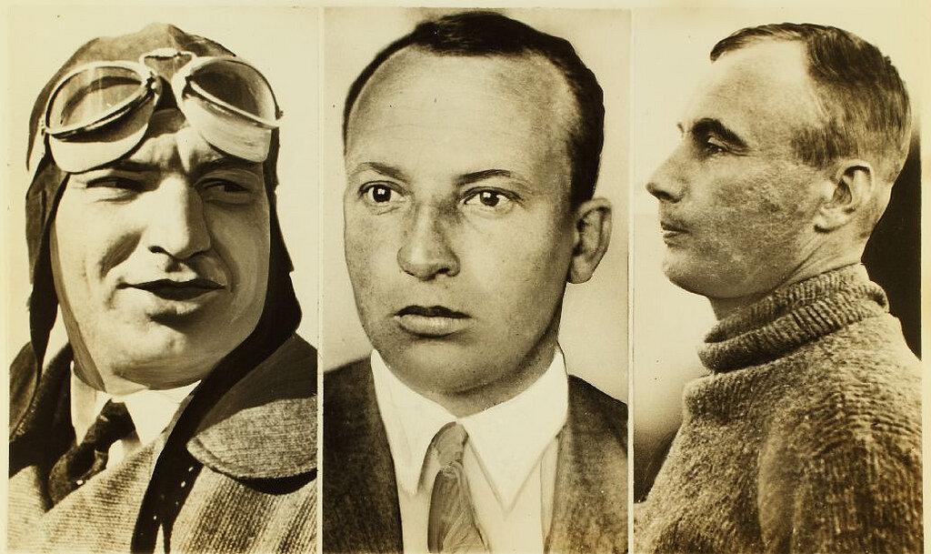 Валерий Чкалов, Георгий Байдуков, Александр Беляков (Tupolev ANT-25)