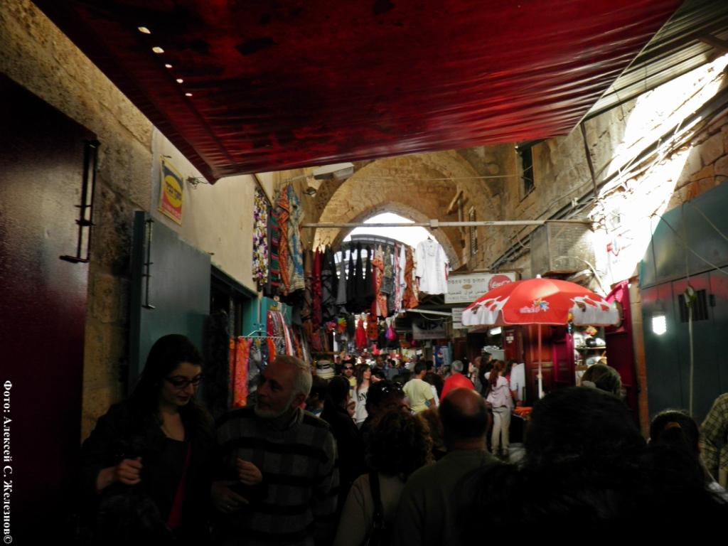 Древний Акко. Часть 4. Мечеть Аль-Джаззара и восточный базар.