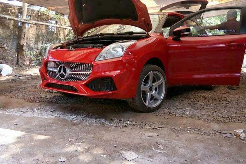 Хитрый индус продал Suzuki под видом Mercedes