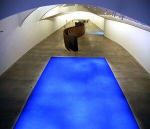 Interior Museo Guggenheim Bilbao - Yves Kleins Fish
