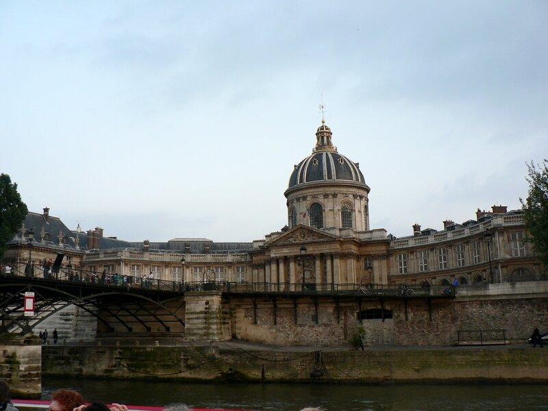 Париж. Вечерняя прогулка на кораблике