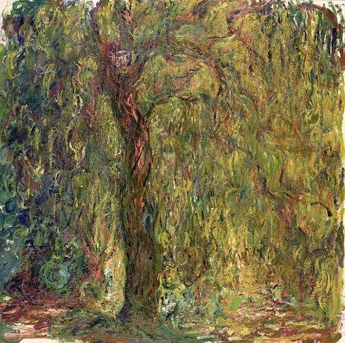 Моне. Плакучая ива. 1918-19.jpg