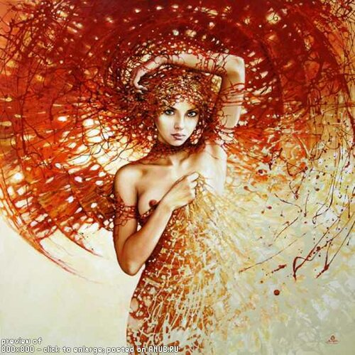 Девушка Осень в картинках и