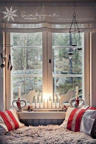 Украшаем окна к Новому году и Рождеству