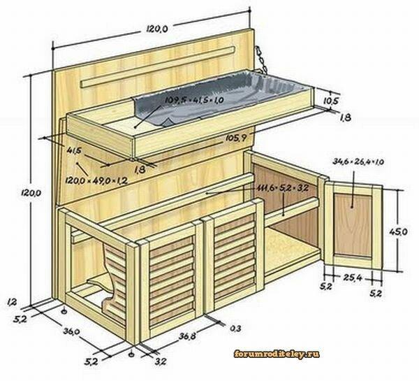 гостиная мебель чертеж