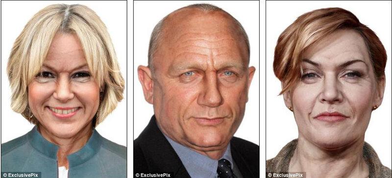 Фотографии знаменитостей в 60-летнем возрасте