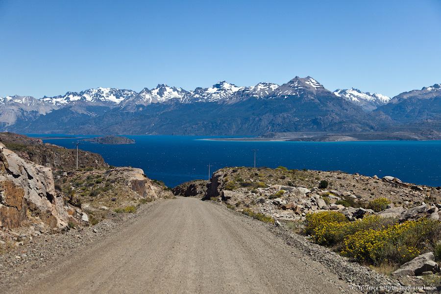 6. Лазурь и мрамор озера Буэнос Айрес - Хенераль Каррера.