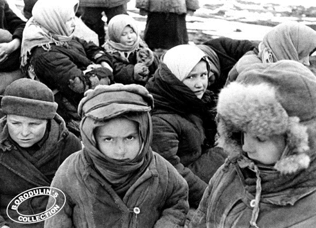 Эвакуация в тыл страны. 1941.