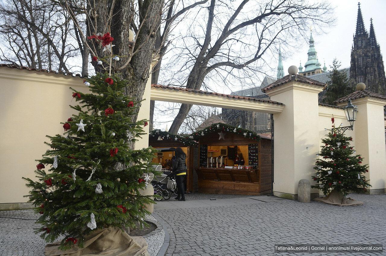Ёлки и рождественские ярмарки Праги