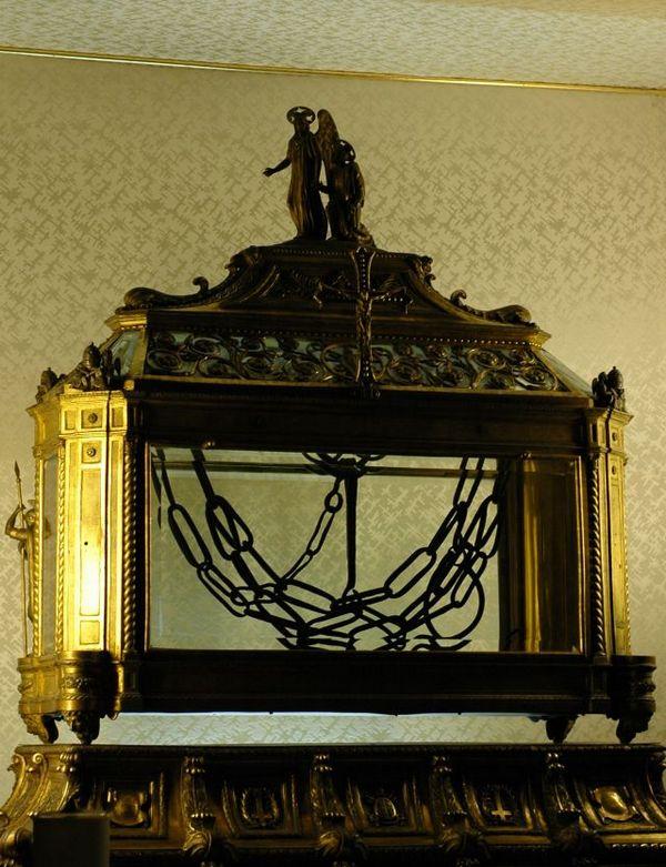 Вериги апостола Петра. Церковь Сан-Пьетро-ин-Винколи