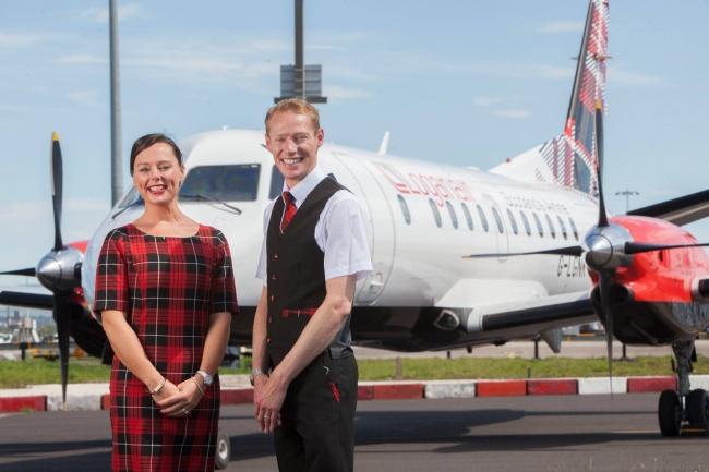 © Loganair/Facebook     Шотландская авиалиния Loganair взяла навооружение знаменитую кле
