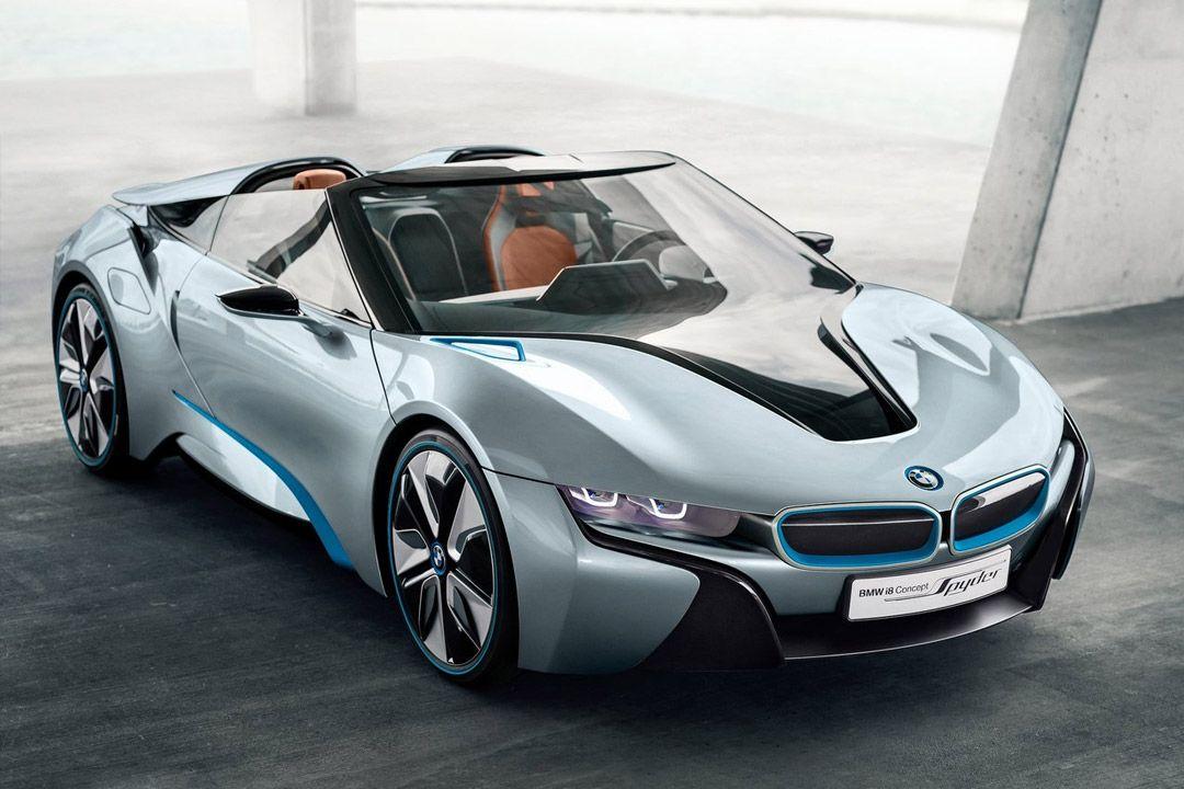 BMW i8 Spyder: без крыши лучше (16 фото)