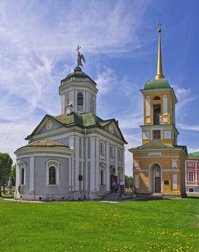 Церковь Спаса Всемилостивого с колокольней