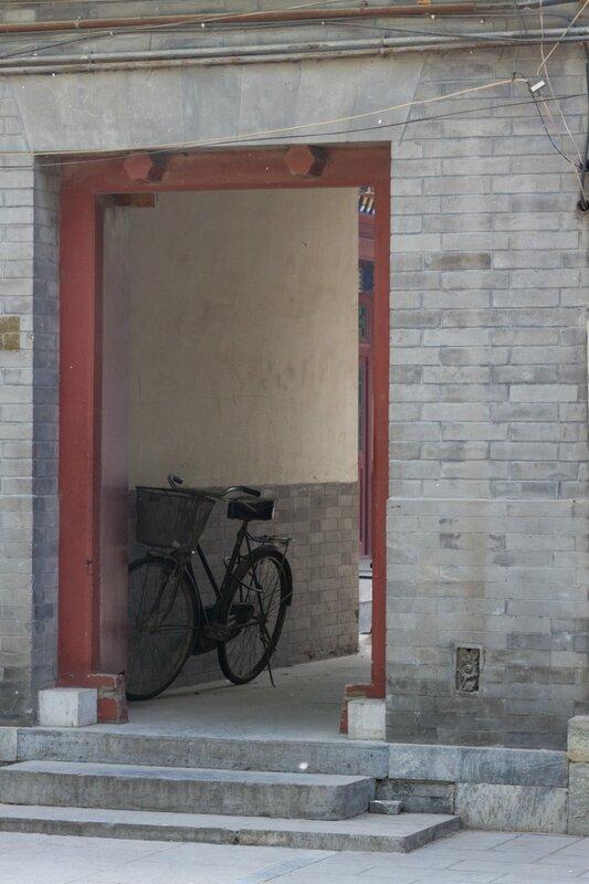 Велосипед, храм Белого облака, Пекин
