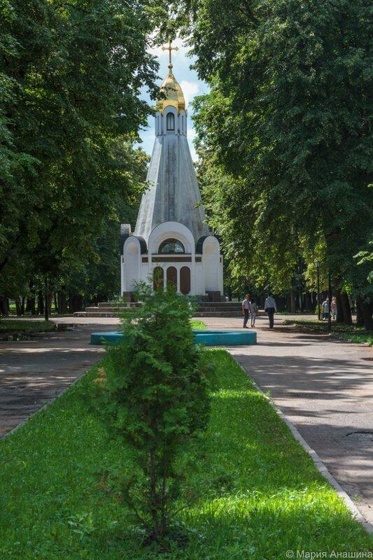 Часовня в честь 900-летия Рязани, Рязань