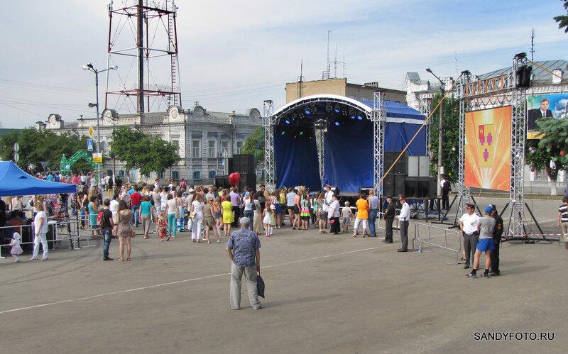 Концерт группы Hi-Fi в Троицке на день города