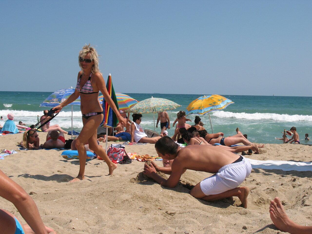 пляжи болгарии фото туристов