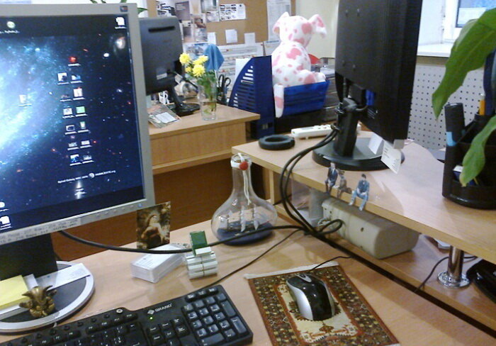 Своя атмосфера в офисе