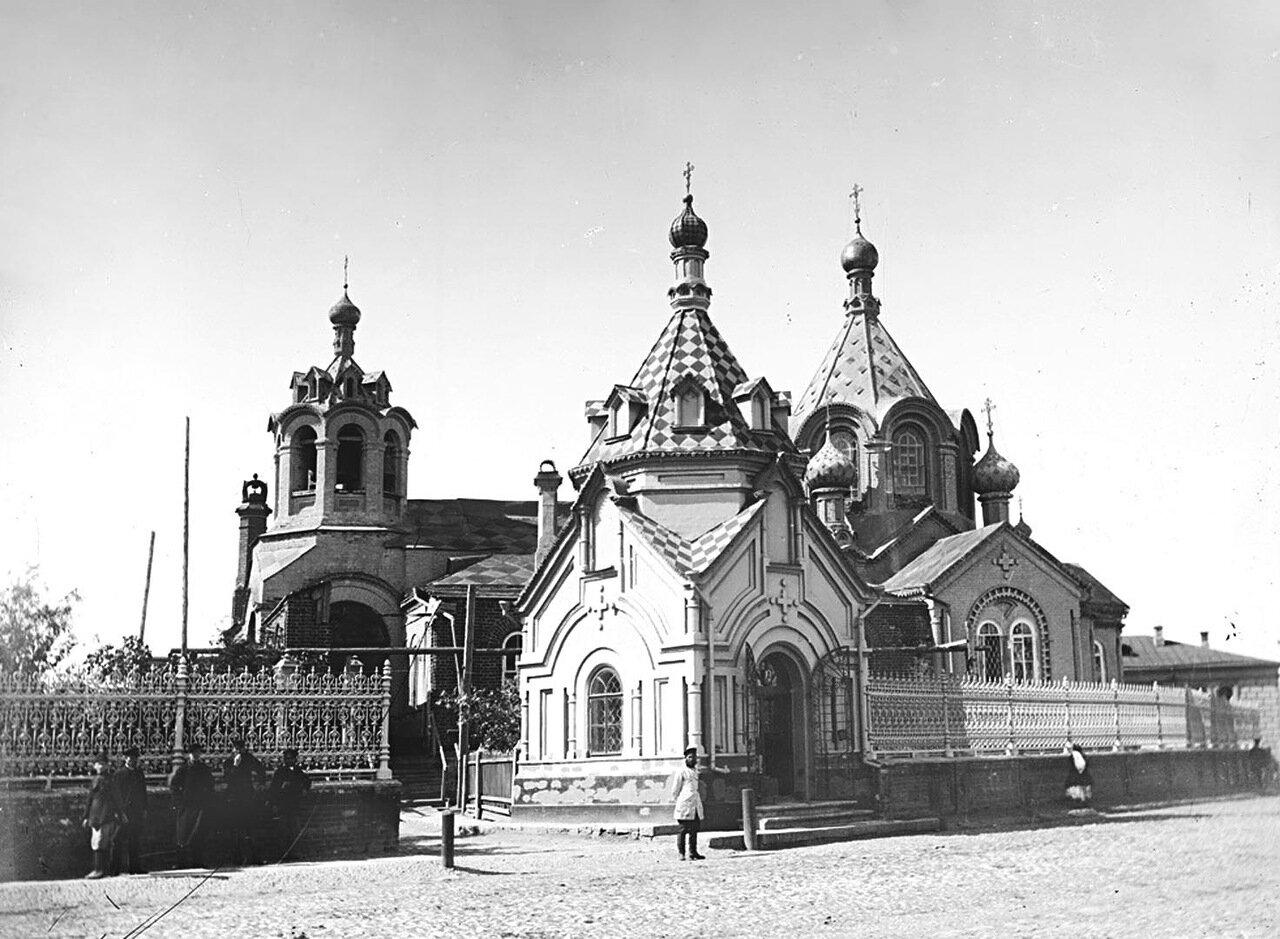 Часовня Городецкого Федоровского подворья. Наружный вид. 1894 г. г. Городец.