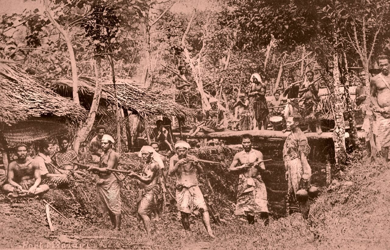 Форт Маджиаджи (Самоа) 1900