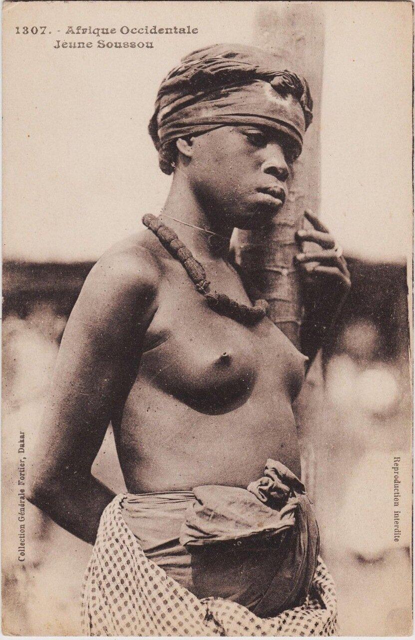 1909. Женщина из Французской Западной Африки