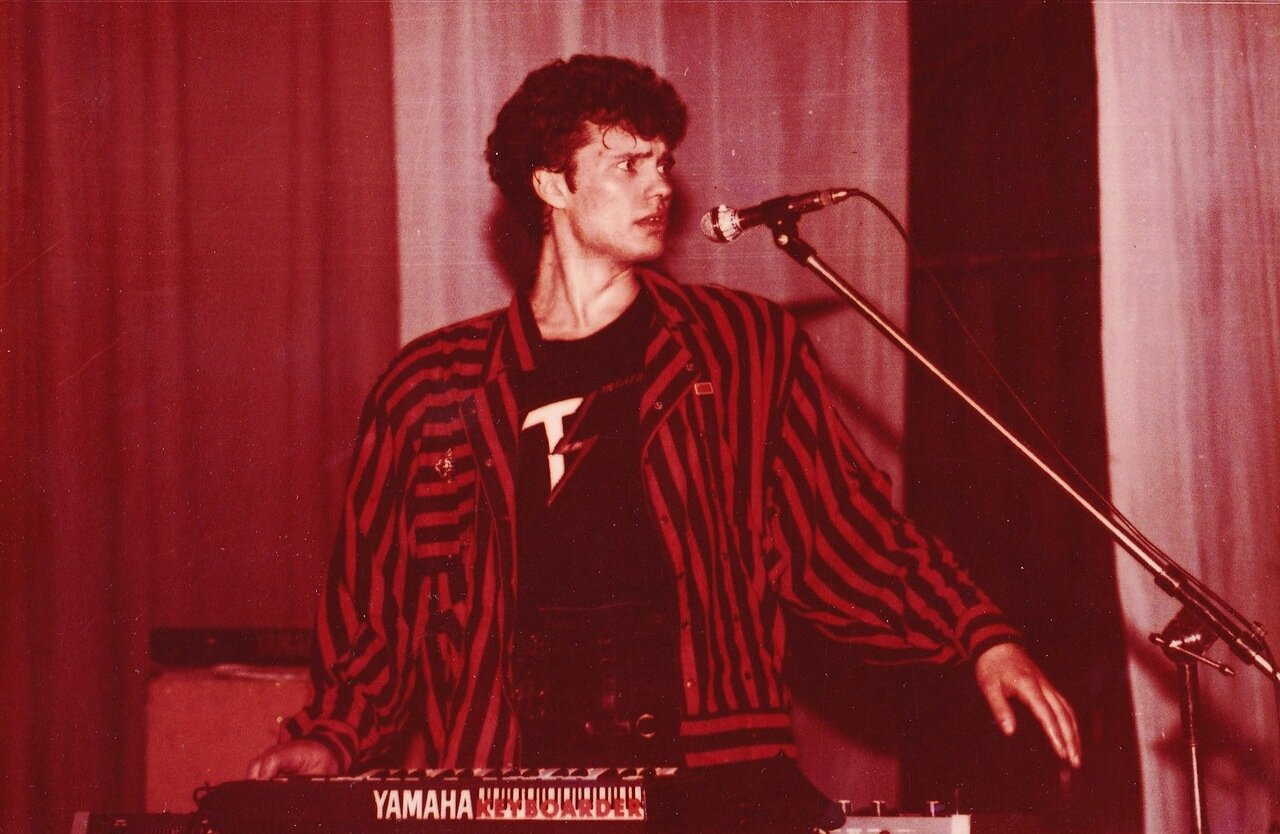 1988. Выступление группы «Телевизор» в Ангарске