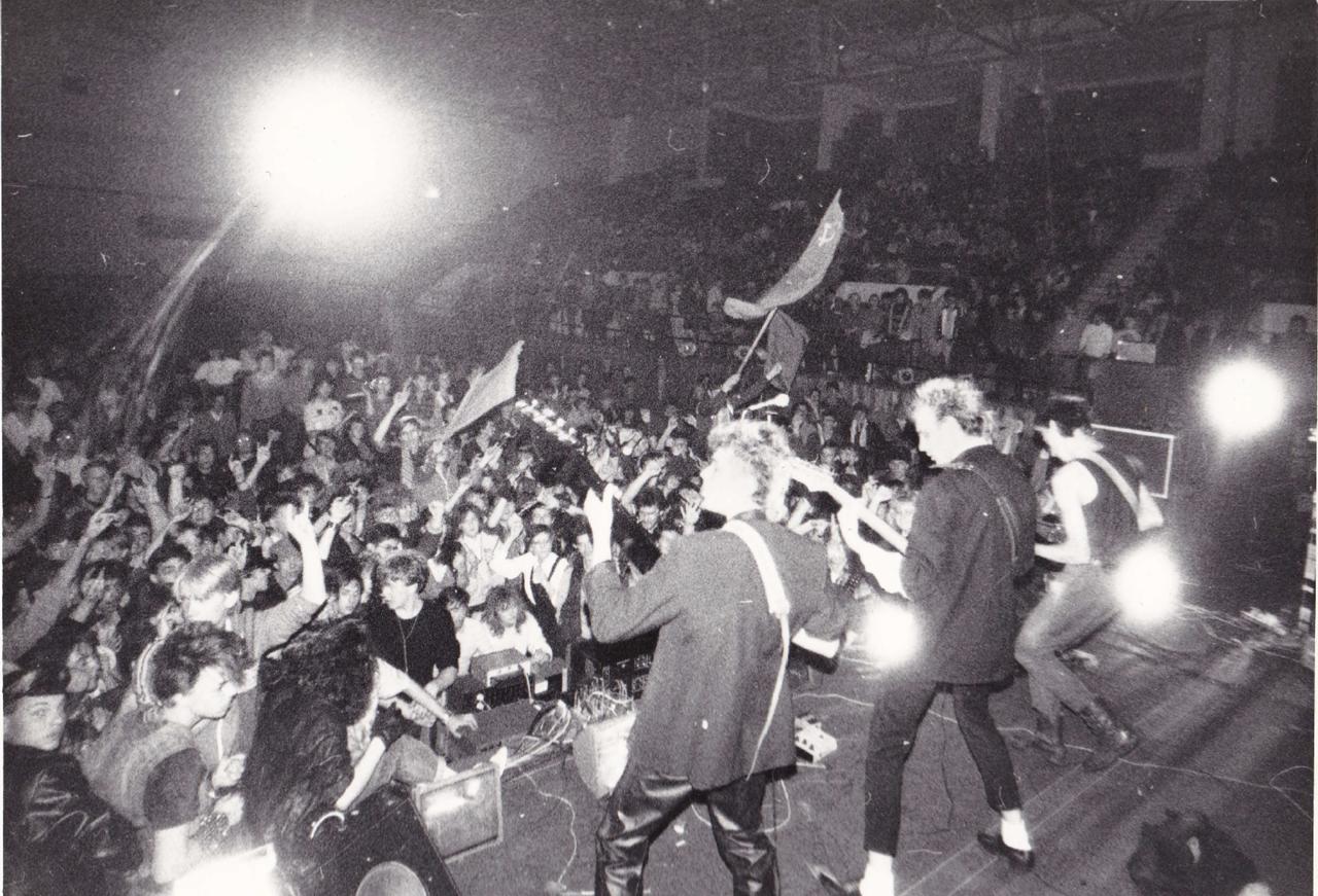 1988-1991. На одном из иркутских рок-фестивалей