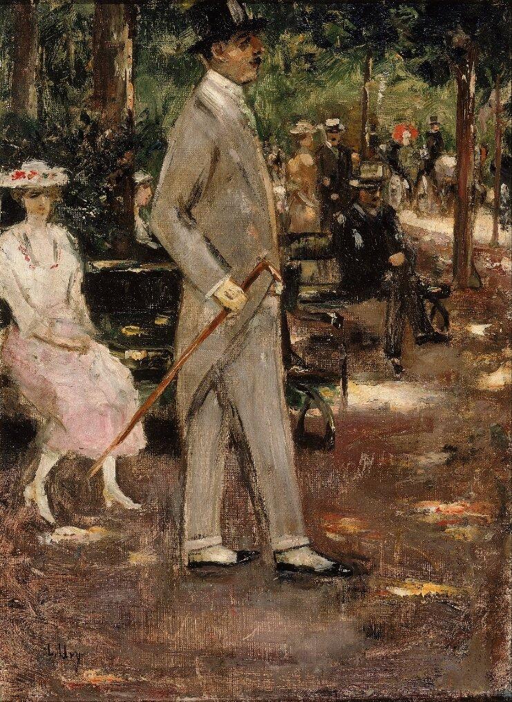 Без названия, конец 19-го, начало 20-го века, Ури, Лессер(1861-1931)