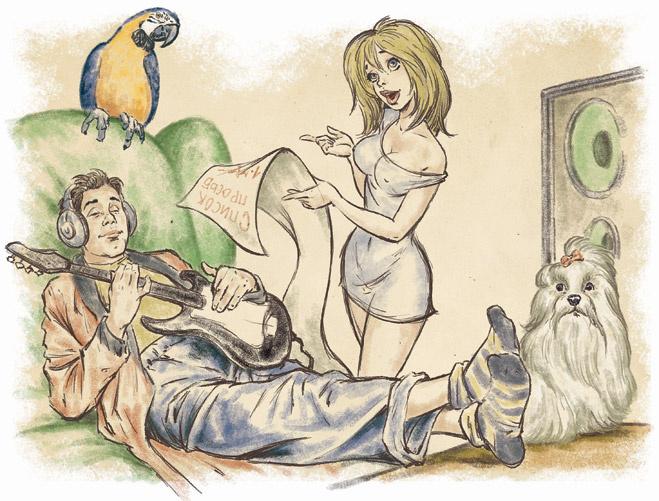 Как отказать женщине во всем, но не в сексе