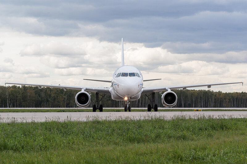 Airbus A320-232 (VP-BBN) Ямал D802917