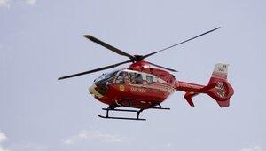 Строится посадочная площадка для санитарных вертолетов