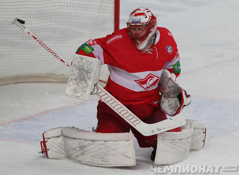 «Спартак» vs «Динамо» 0:6 чемпионат КХЛ 2013-2014 (Фото)