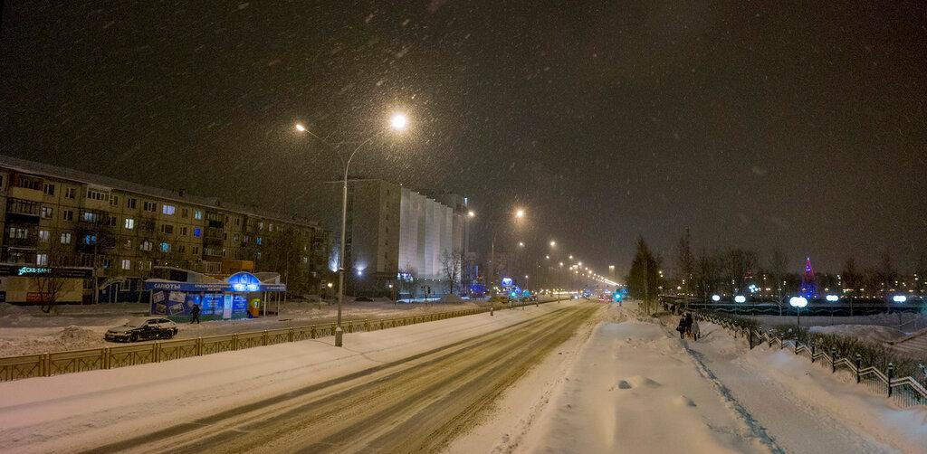 Снежный, теплый Нижневартовск