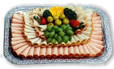 Мясная тарелка: фото-идеи для красивого оформления
