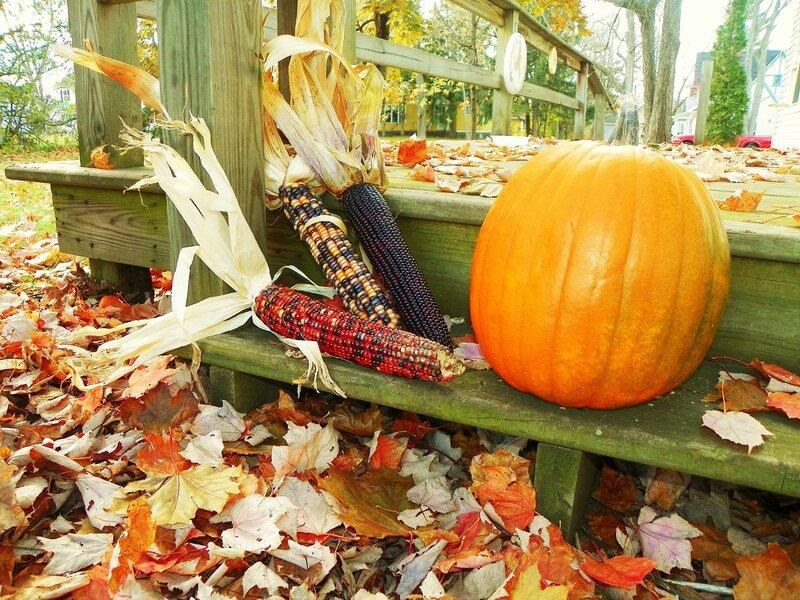 Осень в Висконсине.