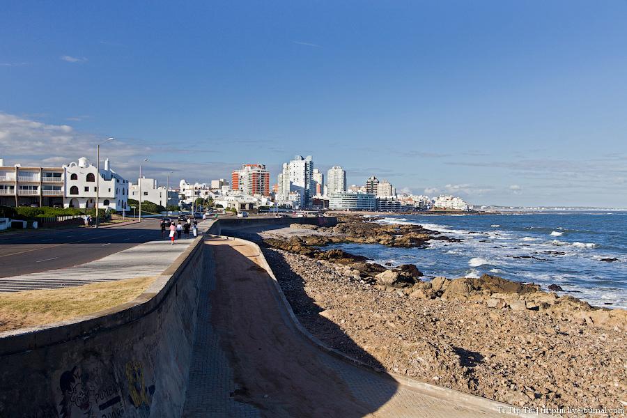 3. Дорогой курорт меж рекой и океаном. Пунта дель Эсте.