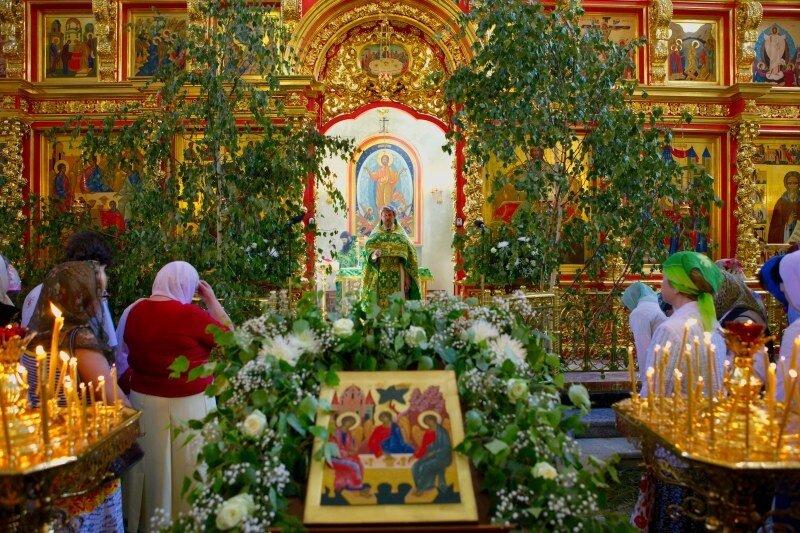 Праздник Святой Троицы в православном храме