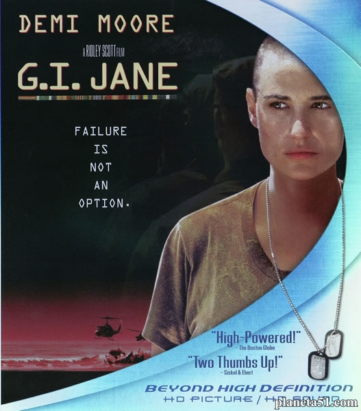 Солдат Джейн / G.I. Jane (1997/HDRip/BDRip)